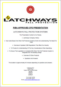 Latchways fall protection systems